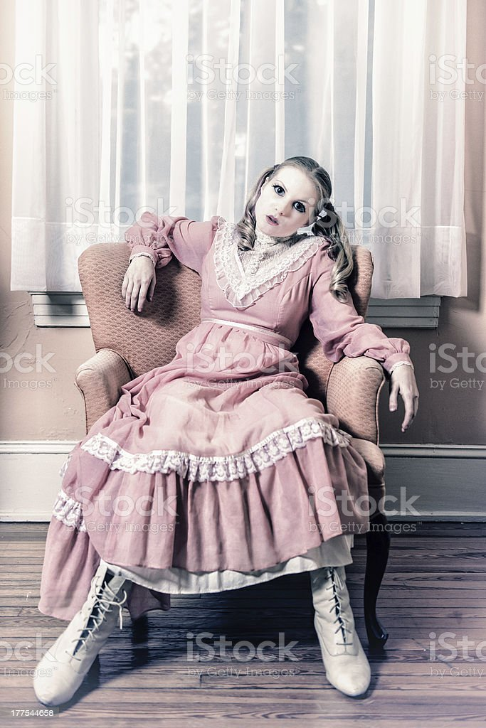 Living Doll royalty-free stock photo