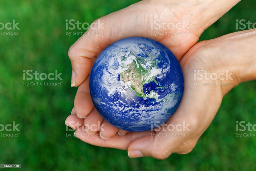 Living earth royalty-free stock photo