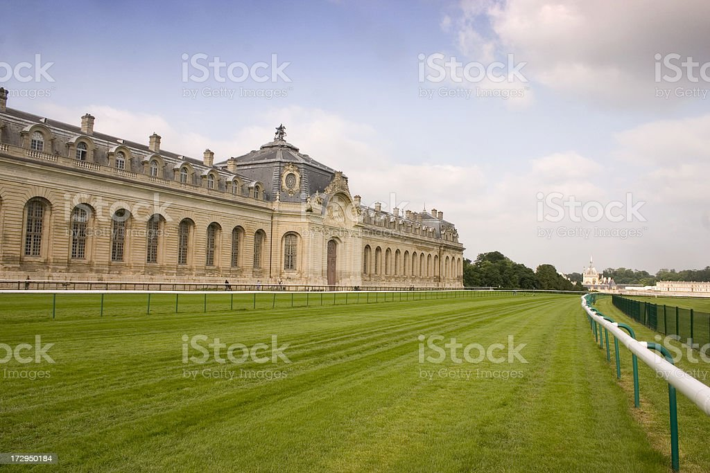 Living Horse Museum Chantilly stock photo