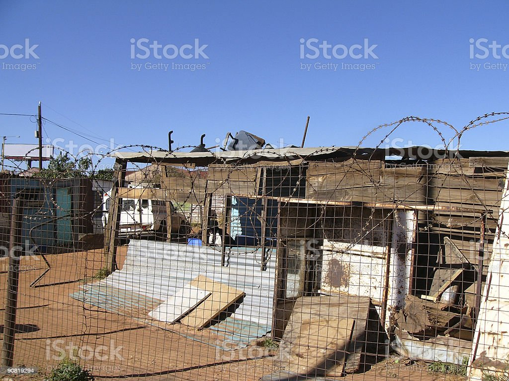 LIving in Poverty: Africa 2 stock photo