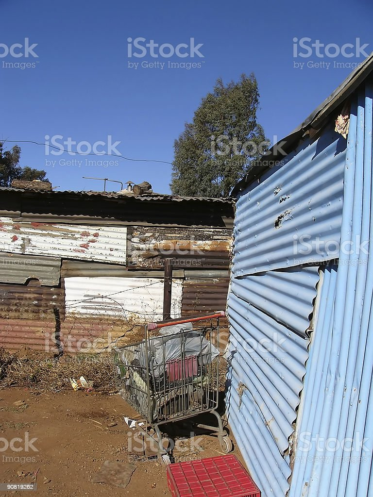 Living in Poverty: Africa 3 stock photo