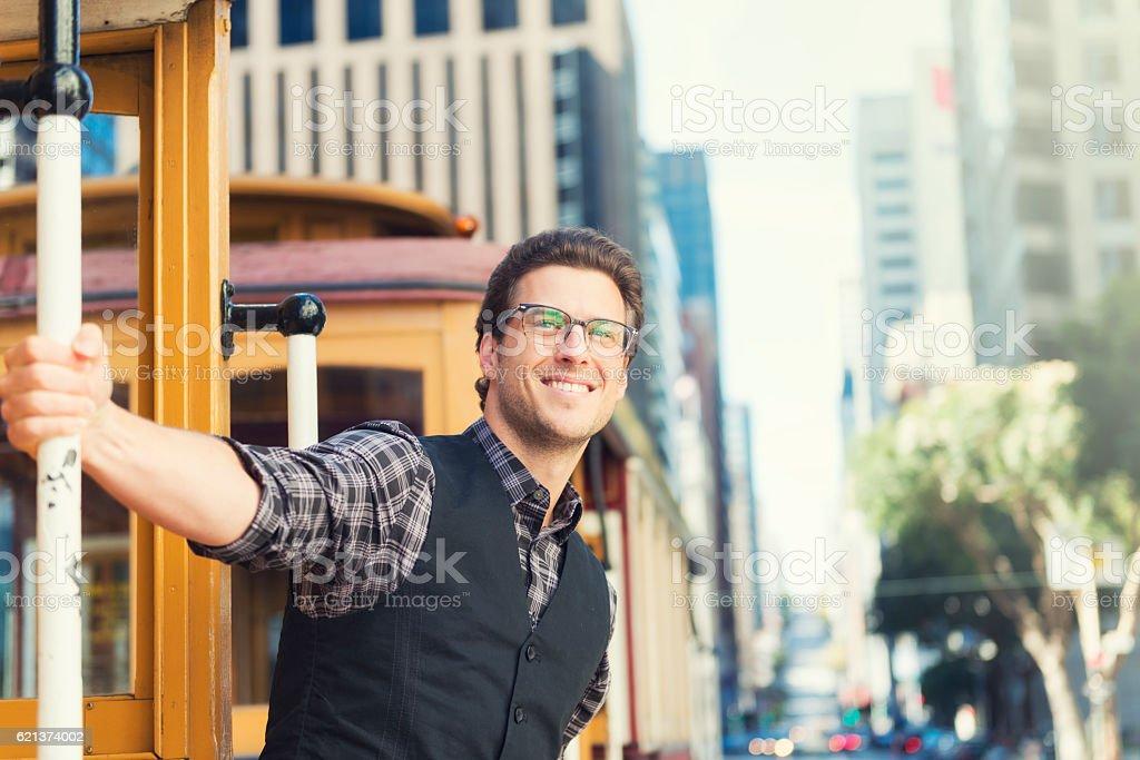 Living in San Francisco stock photo