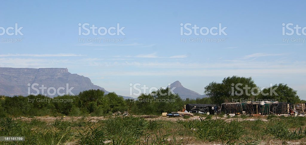 Living in the bush royalty-free stock photo