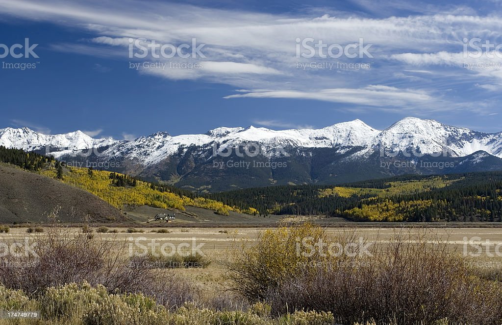 Living in the west royalty-free stock photo
