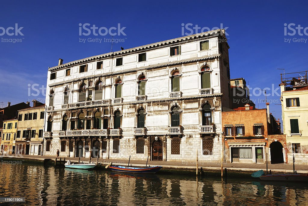 living in venecia royalty-free stock photo