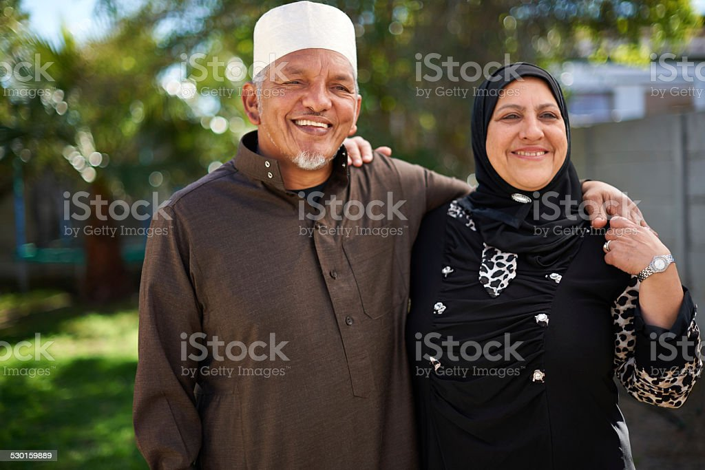 Living life with love stock photo