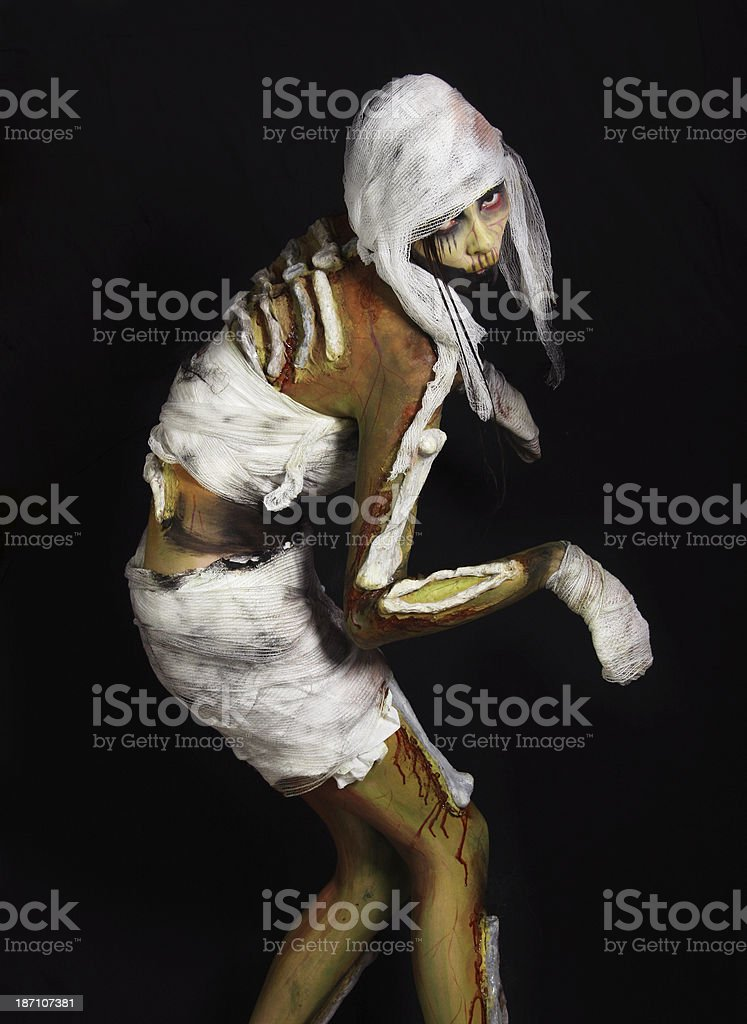 Living mummy royalty-free stock photo