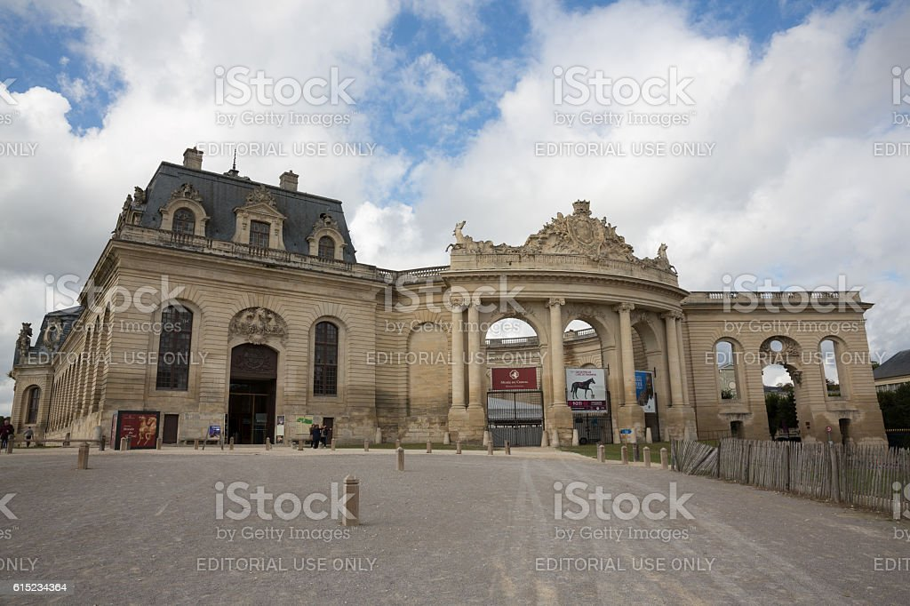 Living Museum of the Horse in Chantilly, France stock photo