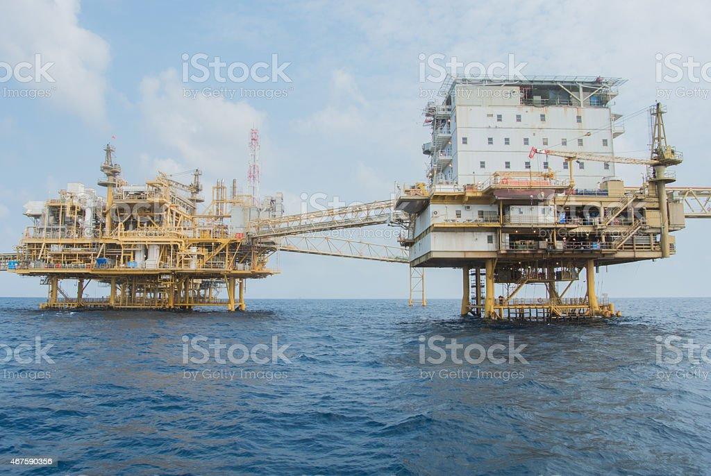 Living Quarter Platform stock photo