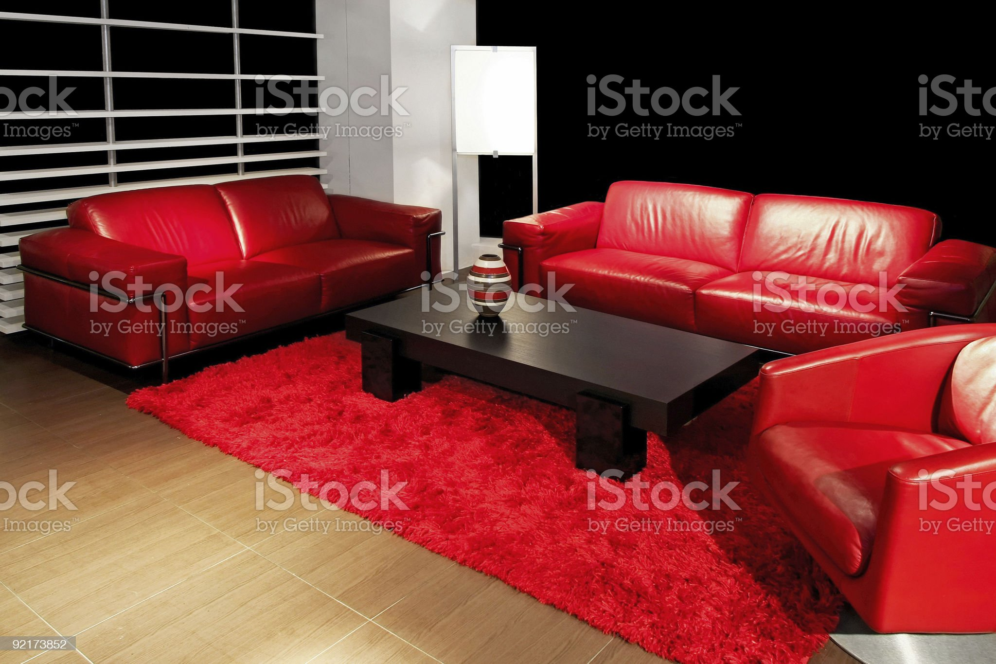 Living red angle royalty-free stock photo