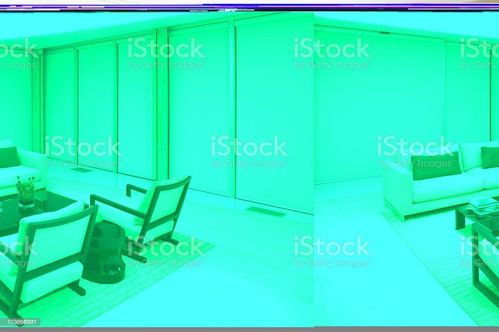 living room condominium royalty-free stock photo