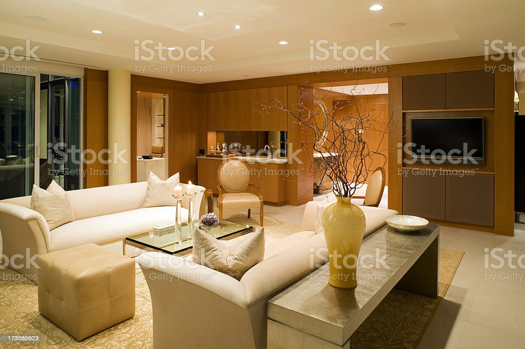 living room couch royalty-free stock photo