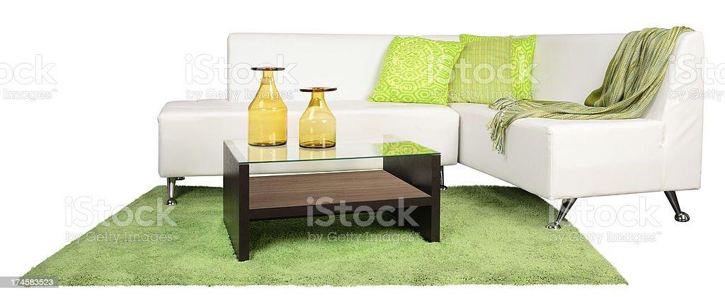 Living room furniture. stock photo