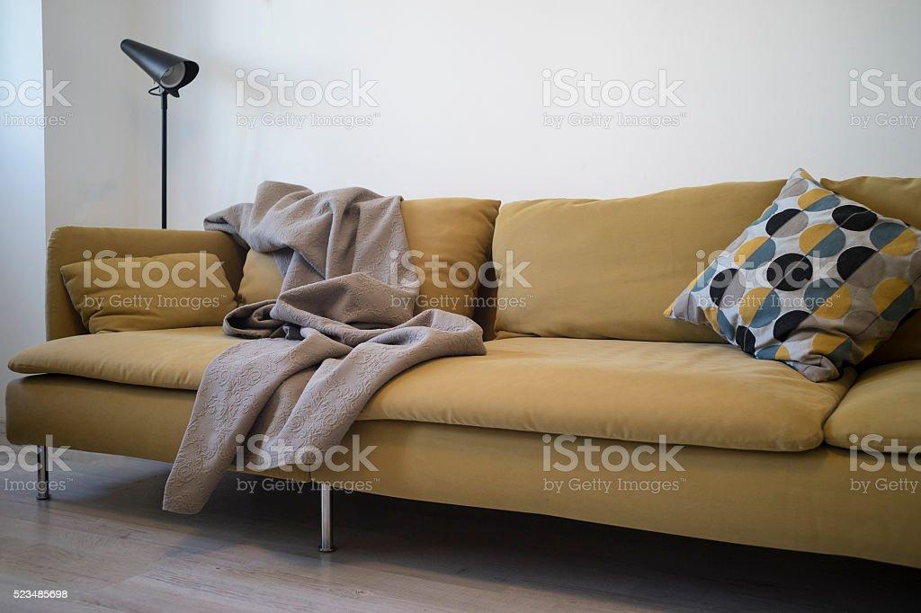 Living room furniture stock photo