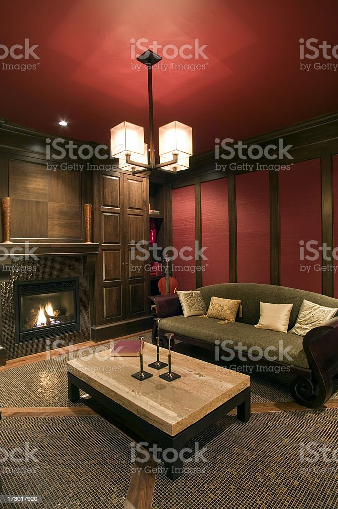 living room home mansion royalty-free stock photo