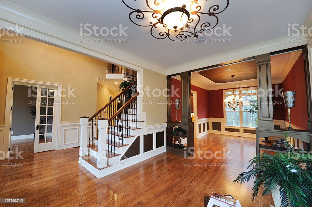 Living Room In Home Interior royalty-free stock photo