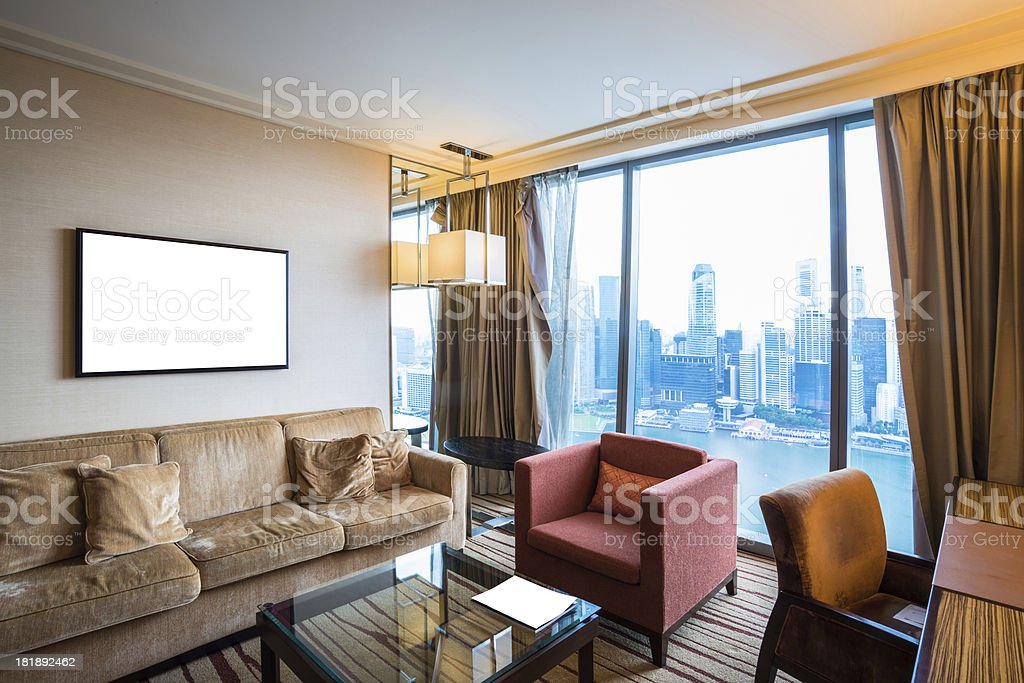 living room interior royalty-free stock photo