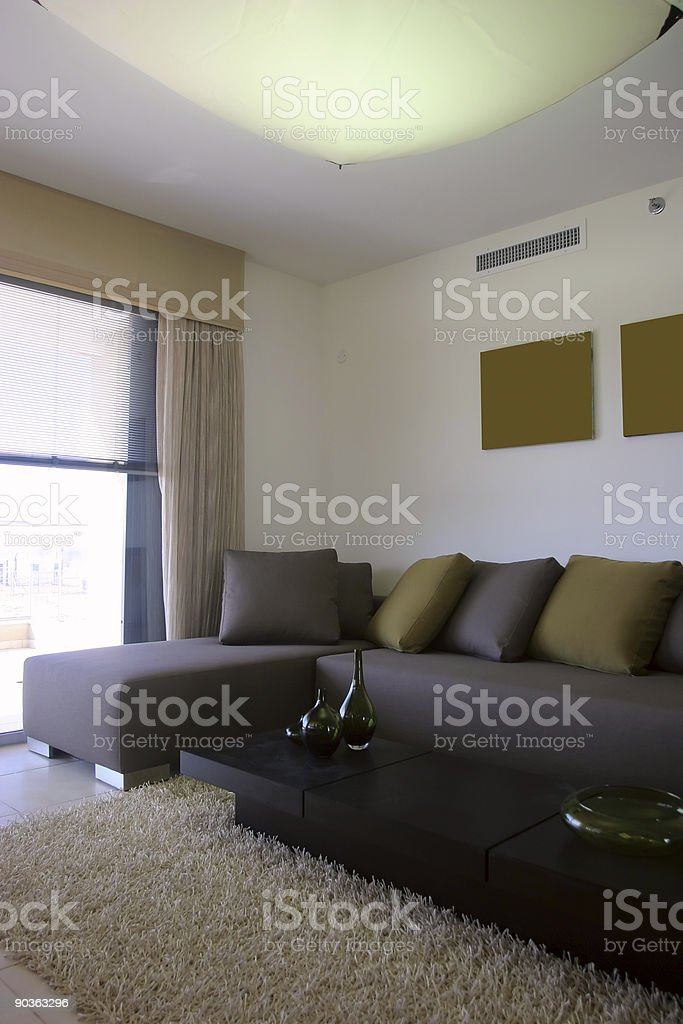 Living Room Interior royalty-free stock photo