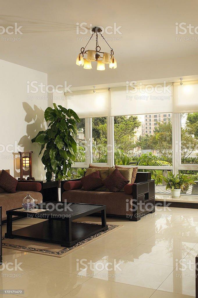 Living room. stock photo