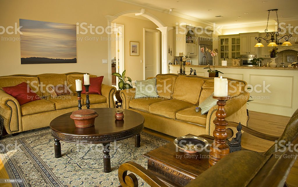 Living Room royalty-free stock photo