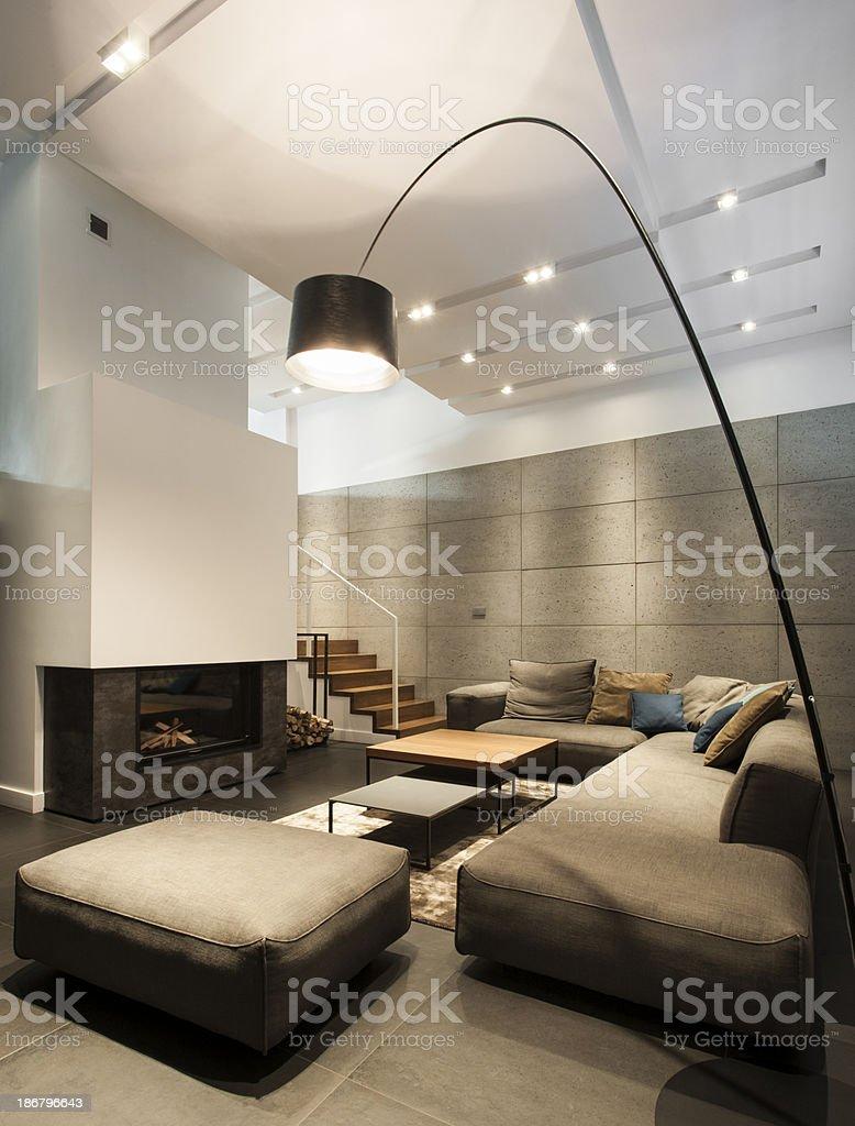 Living room. royalty-free stock photo