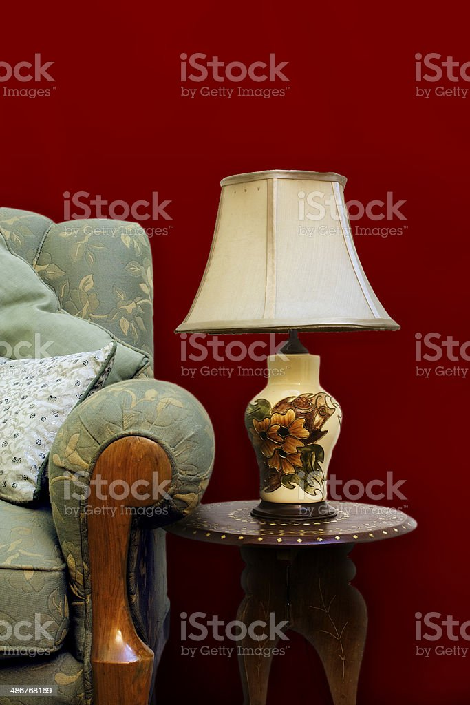 Living Room Setting stock photo