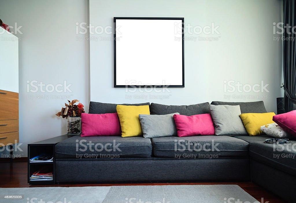 Living room XXXL stock photo
