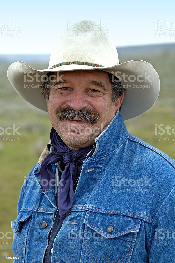 Living The Cowboy Life royalty-free stock photo