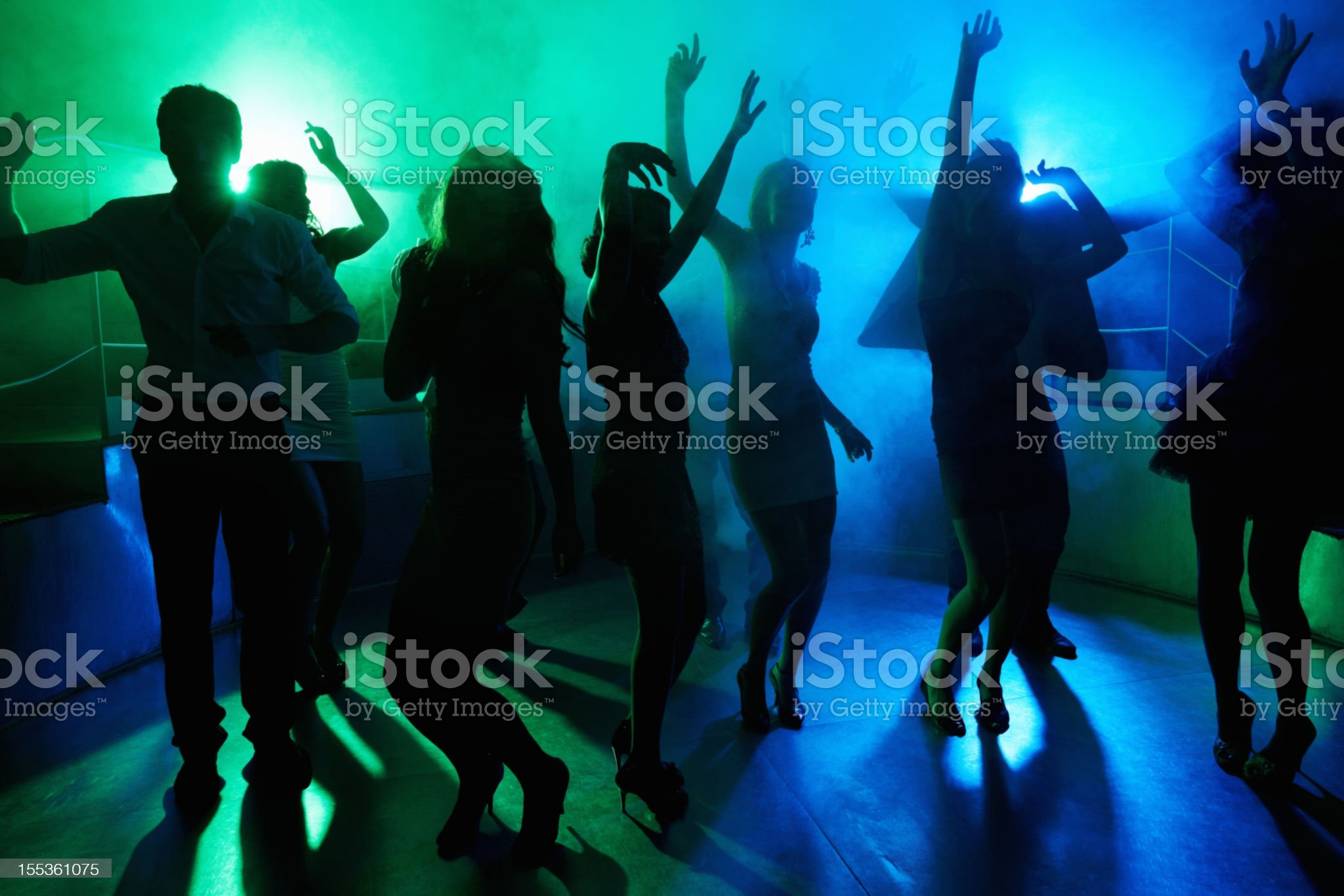 Living the nightlife royalty-free stock photo