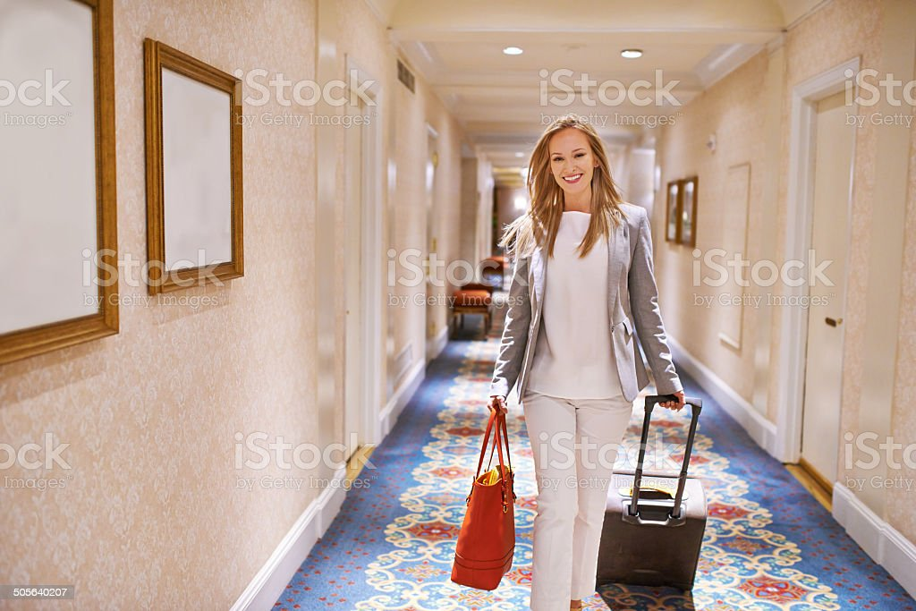 Living the suite life stock photo