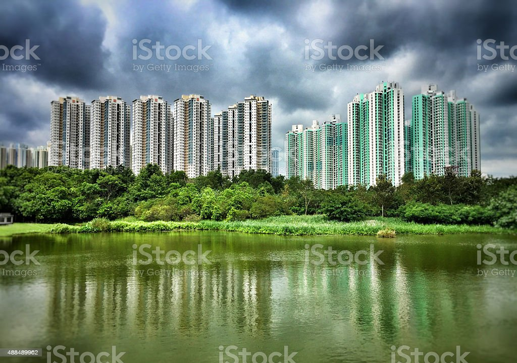 Living upon Water stock photo