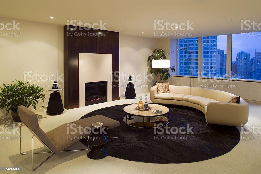 livingroom condominium furniture royalty-free stock photo