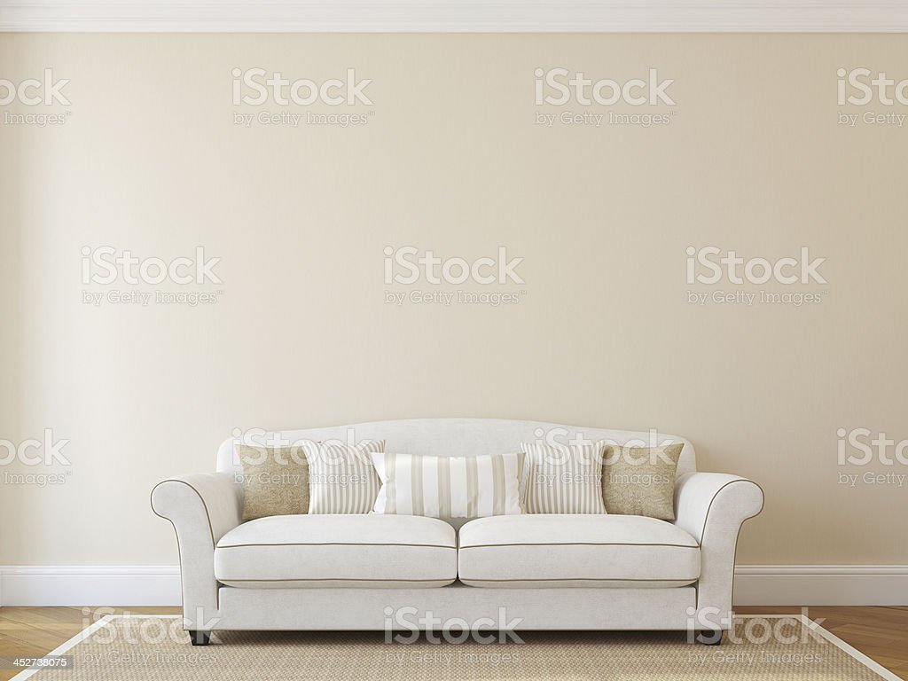 Living-room interior. stock photo