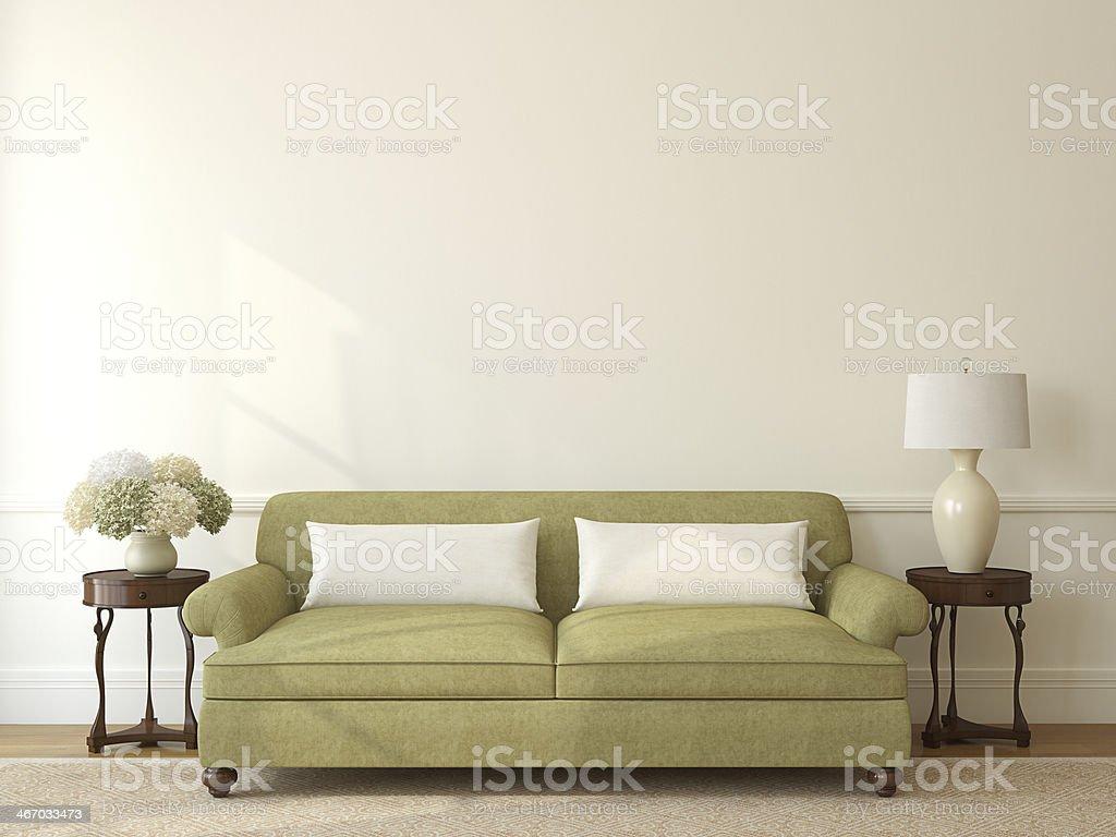 Living-room interior. stock photo