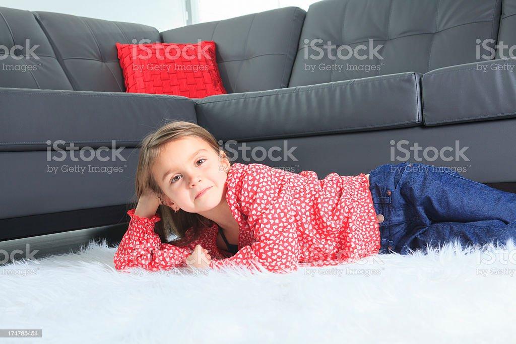 Livingroom - Lay royalty-free stock photo