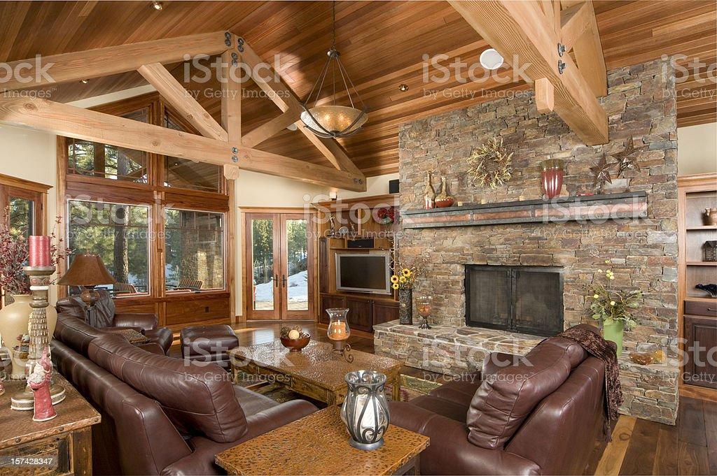 Livingroom stock photo