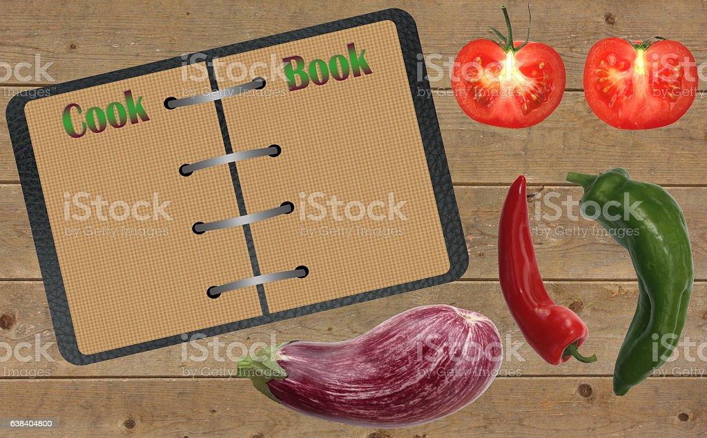 Livre de Cuisine - Cours de Cuisine stock photo