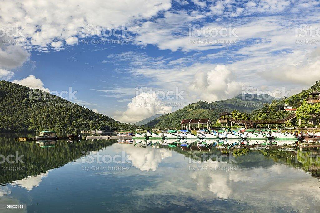 Liyu(Carp)Lake stock photo
