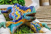 Lizard Fountain in Parc Guell