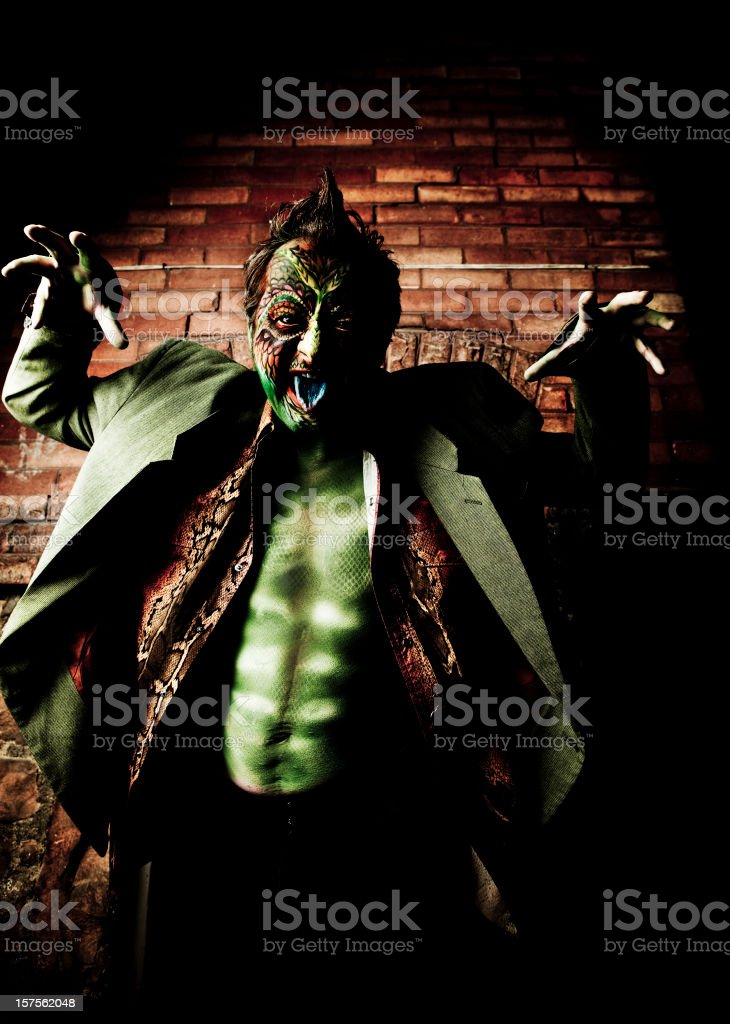 Lizard Man royalty-free stock photo