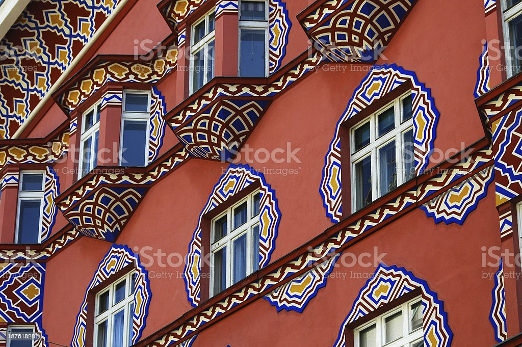 Ljubljana architecture stock photo