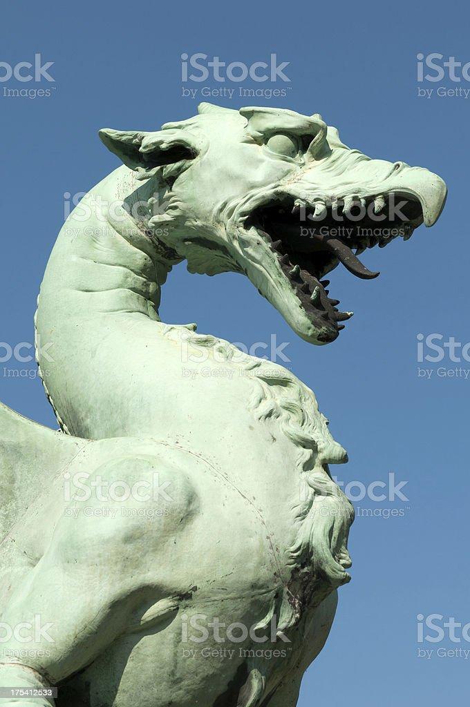 Ljubljana Dragon royalty-free stock photo