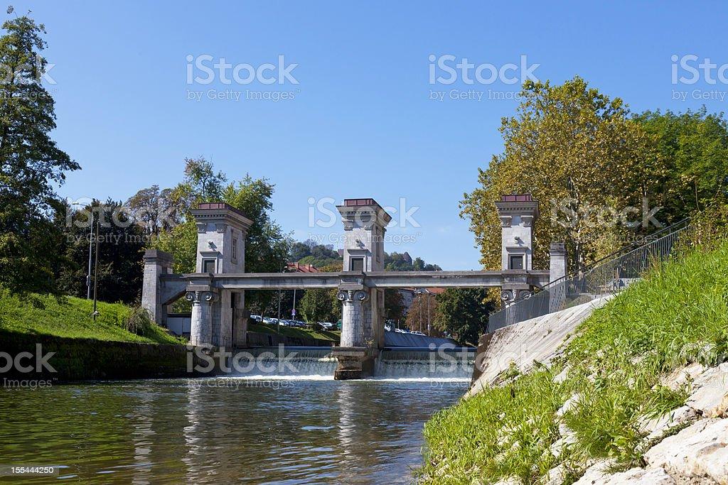 Ljubljana royalty-free stock photo