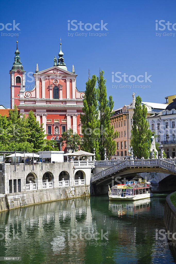 ljubljana stock photo