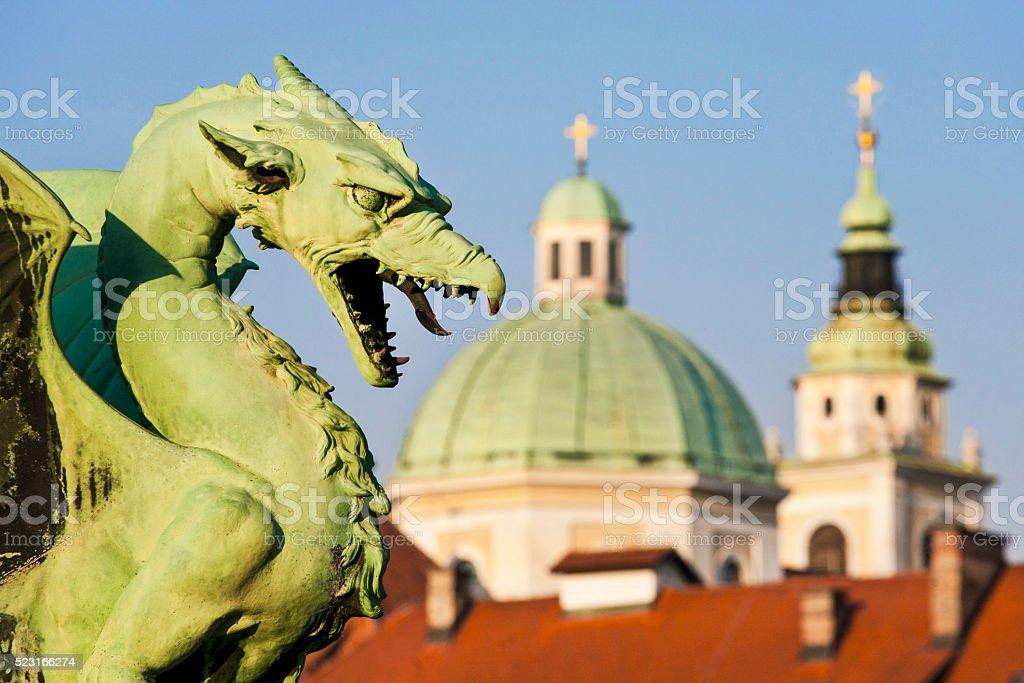 Ljubljana stock photo
