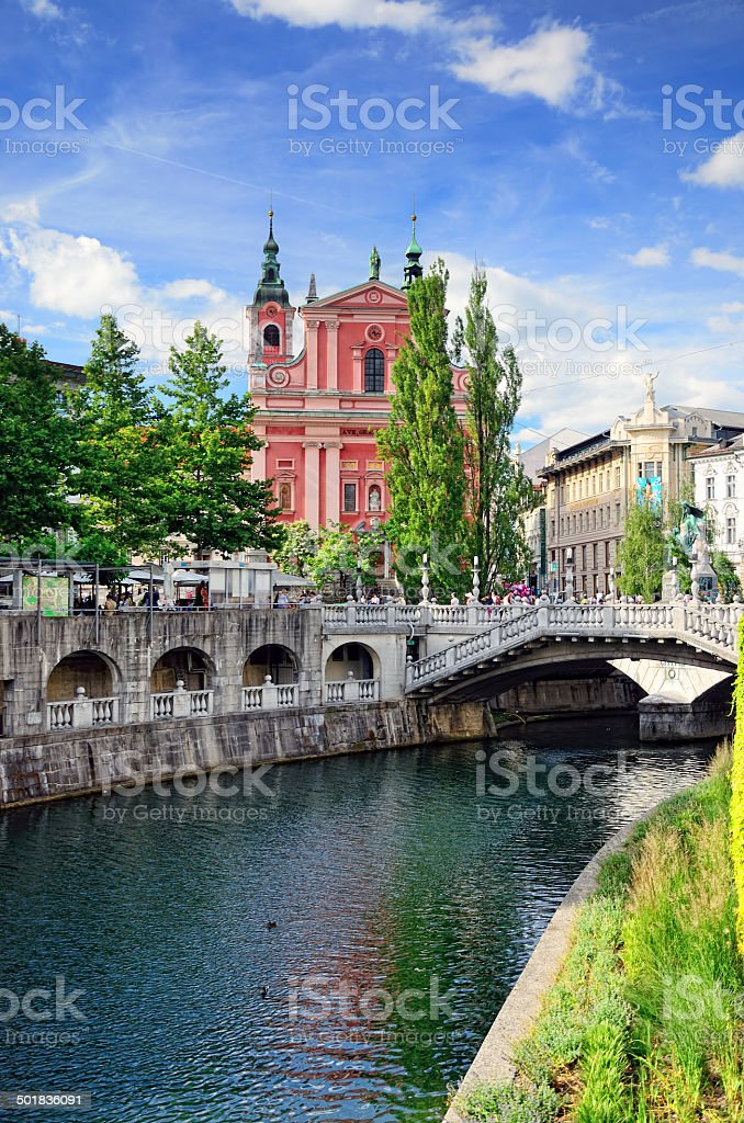 Ljubljana, Slovenia stock photo