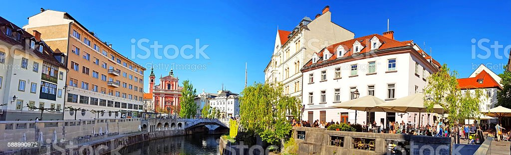 Ljubljana, Slovenija stock photo