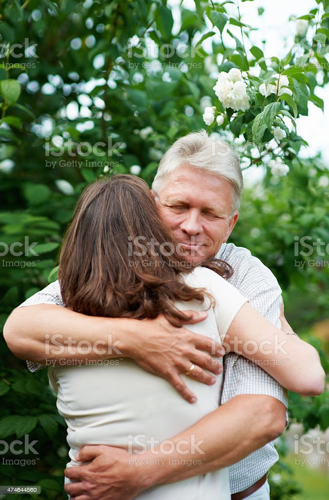 I'll always be there when you need me stock photo