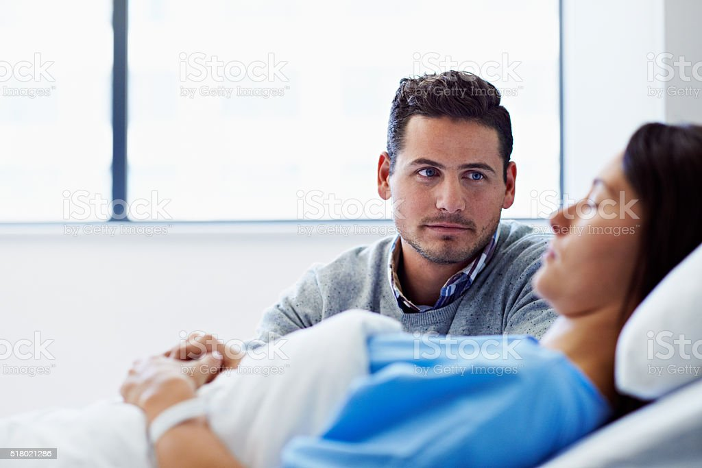 I'll be here every minute of the day stock photo