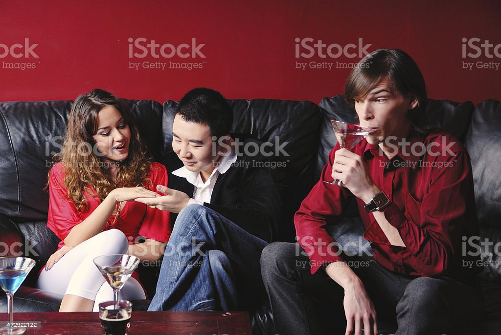 I'll Drink to That royalty-free stock photo